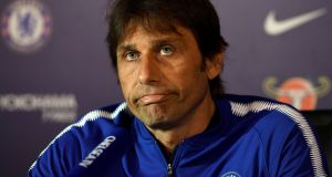 "Chelsea manager Antonio Conte:  ""This is an important game for us."" Photograph:  Tony O'Brien/Reuters"