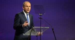 The frontbench reshuffle announced by Fianna Fáil leader Micheál Martin looks like a move to prepare the party for the general election which could happen any time from the autumn onwards. Photograph: Dara Mac Dónaill