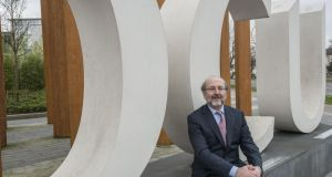 Prof Brian MacCraith president of DCU: DCU is 'acutely aware of the financial pressures that are placed on students and their families'. Photograph: Brenda Fitzsimons/The Irish Times