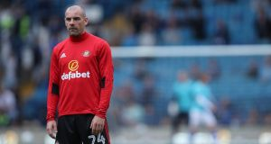Sunderland's Darron Gibson: in 2015 he  was a mainstream Ireland international and Premier League footballer with Everton. Photograph: Getty Images