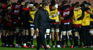 Toulon head coach Fabien Galthie will arrive in Munster under no illusions. Photograph:  Geoff Caddick/AFP/Getty Images