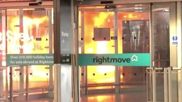 Stansted Airport Fire Sparks Evacuation On Easter Weekend