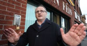 Barry McElduff posted a clip of himself in a shop balancing a loaf of Kingmill bread on his head. This was interpreted by the  families of some Kingsmill massacre victims' and others as an insult. File photograph: PA Wire