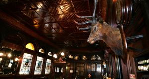 James Cummins, manager of the Stag's Head in Dublin, said trading was brisk and not unlike a normal Friday.