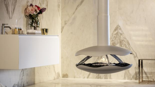 This bioethanol-fuelled Perola Branco fire will set you back about €4,450.