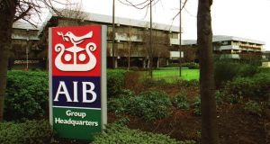 Shares in AIB have risen by a quarter in value since its IPO at €4.40 a share. Photograph: Alan Betson