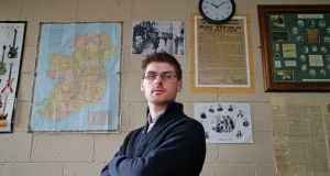 David Waters, a new entrant teacher at Greenhills College in Dublin 12. He says lower payscales are immoral. Photograph: Nick Bradshaw