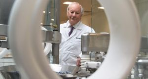 Peter FitzGerald, managing director of Randox Laboratories, which plans to invest £50 million to establish three new centres of excellence in the North. Photograph: Colm Lenaghan/Pacemaker