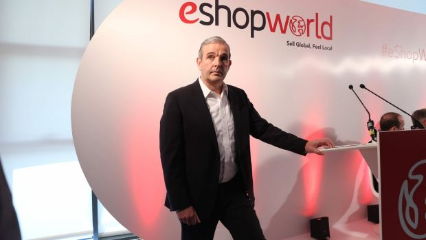 eShopWorld chief executive Tommy Kelly: expecting to exceed $1 billion (€850 million) in annual turnover by the end of 2019. Photograph: Jason Clarke