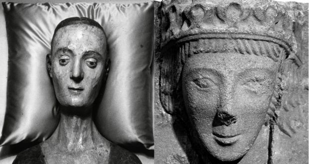 Is stone carving discovered in...
