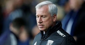 West Brom have fired manager Alan Pardew. Photograph: Ed Sykes/Reuters