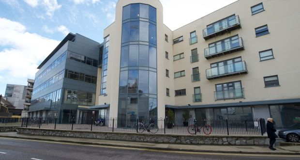 student accommodation building on copley street in cork city
