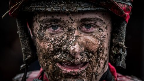 Jockey Mark Enright after riding Make it Hurrah in the first race at Fairyhouse. Photograph: Morgan Treacy/Inpho