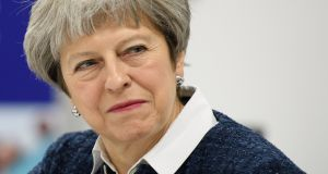 British prime minister Theresa May: If she  owes her longevity to the roguish police line-up of bad alternatives, she can also claim to have come into her own of late. Photograph: Leon Neal/PA Wire