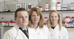 Dr Michael Maguire with fellow directors Dr Gillian Hendy and Dr Shirley O'Dea