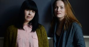 A Night of Musical Stories: Katie Kim and Radie Peat of Lankum are teaming up for a new project for the MusicTown festival in Dublin. Photograph: Alan Betson/The Irish Times
