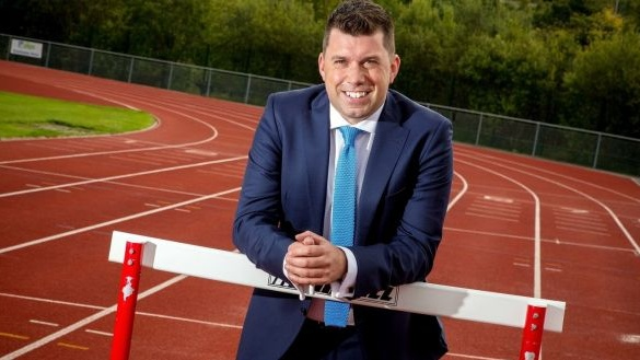 Dr Brian Moore of Orreco. This west of Ireland-based sports tech firm uses machine-learning and data analytics to monitor the health of athletes