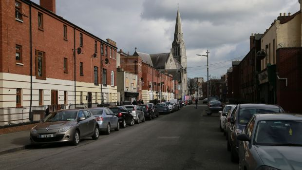 The view down Oriel Street in Dublin's orth inner city. Photograph: Nick Bradshaw