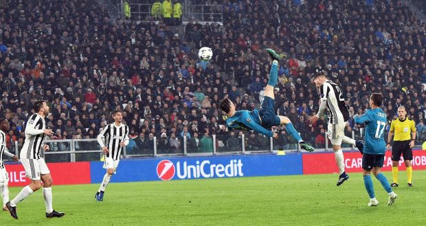Cristiano Ronaldo Silences Turin To Put Real On Brink Of Last Four