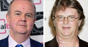 Backlash:  Ian Hislop and Paul Merton. said  the lack of female  guest presenters on Have I Got News For You is because they do not want the job. Photograph:  Ian West/PA Wire