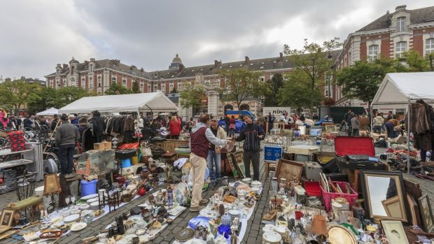 Hunt for a bargain at Place du Jeu de Balle. Photograph: iStock