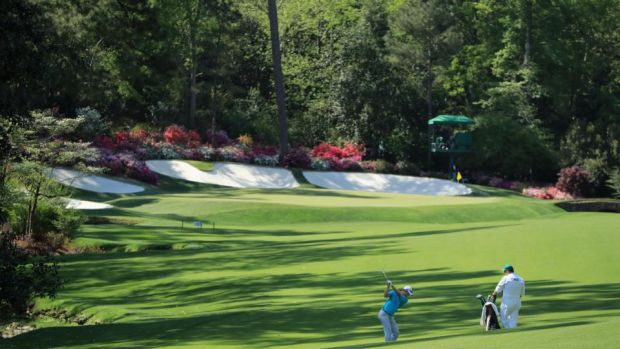 The end of Amen Corner offers an eagle chance.