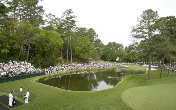 The last Par 3 and scene of that famous moment in 2005.