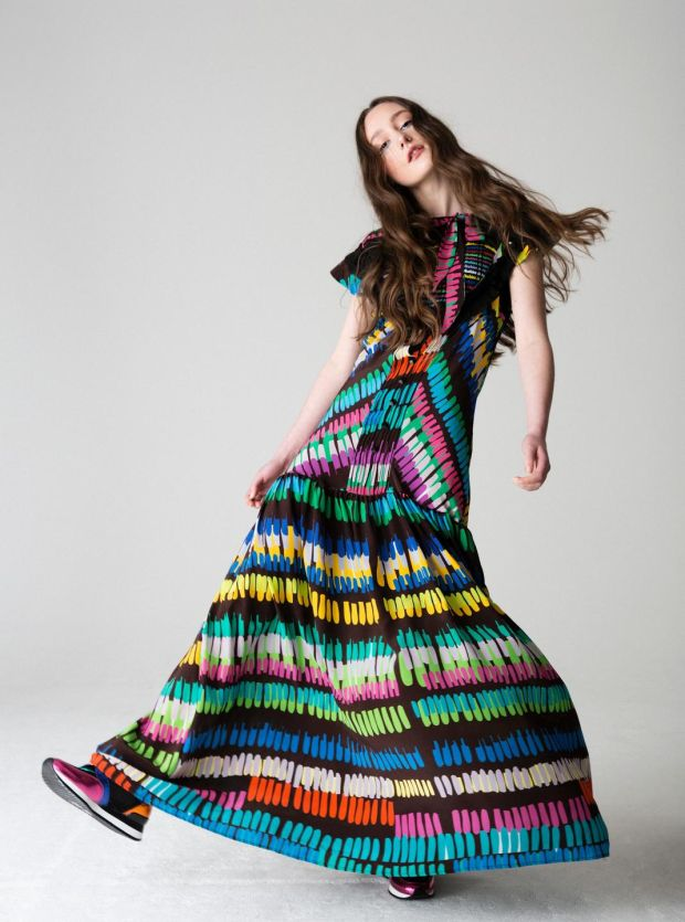 Dress 750 by Helen Steele specially made for the Repeal event at Atrium this month. Photo Eilish McCormick