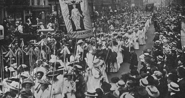 Timidly Opening The Doors Winning The Vote For Women In 1918