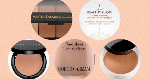 f5401f94ca7 Clockwise from top left: Maybelline Master Bronze Colour and Highlighting  Kit; Charlotte Tilbury Unisex