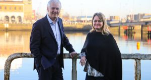 Strategem founder Keith Lee with Connelly Partners managing partner Courtney Doyle. Mr Lee said the new roles would be across advertising, client services, data, technology, content and shopper marketing.