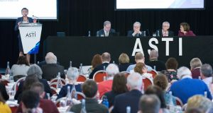 "Delegates attending the ASTI Annual Convention in Cork heard the move to waive penalties for any former members who now wished to rejoin was ""a wise decision"" and ""in our best interests"". Photograph: Gerard McCarthy"
