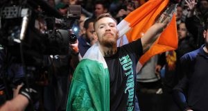 Video footage has emerged on social media of what appears to be McGregor and his entourage storming into the Barclays Centre. File photograph: ©INPHO/Emily Harney