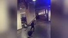 Footage of Conor McGregor alleged bus attack