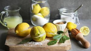 Preserved lemons: add to fish, salads, meats and to finish off a noodle or rice dish.