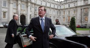 Former Ulster Unionist leader David Trimble has warned that the Government in Dublin risks provoking loyalist paramilitaries with its stance on the Border after Brexit. File photograph: Eric Luke.