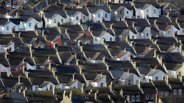 "In January, the Financial Times noted that ""just 4.5 per cent of the UK's housing stock changed hands last year"". In Ireland, the rate is around 2.5 per cent, according to the Central Bank. Photograph: Gareth Fuller/PA Wire"