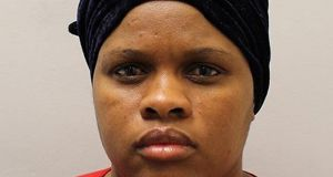 Joyce Msokeri (47) was sentenced for three counts of fraud and one charge of possessing a false document at the Old Bailey. Photograph: Metropolitan Police/PA Wire