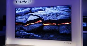 The Wall TV by Samsung has a 146in screen.