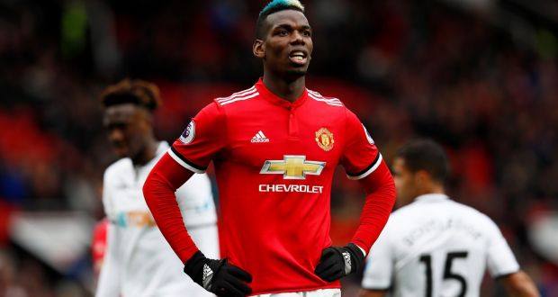 e3054ea3ff4c Pep Guardiola has claimed that Manchester City were offered Paul Pogba and  Henrikh Mkhitaryan in January