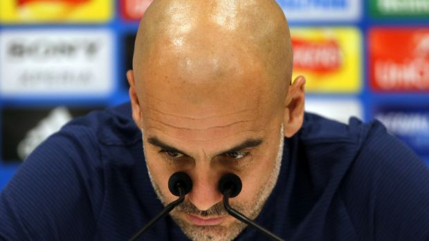 Pep Guardiola: presided over the greatest period in Barcelona's footballing history. Photograph: Carl Recine/Reuters File Photo