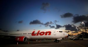 Indonesia's budget carrier, Lion Air, was among the first to fly Boeing's recently-launched 737 Max 8 and Max 9 aircraft. Photograph: Thomas White/Reuters