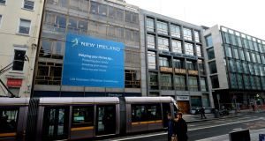 New Ireland parent Bank of Ireland decided in January to sell the pension and insurance firm's building on Dawson Street in Dublin 2, sparking speculation that it could fetch €35 million. Photograph: Cyril Byrne