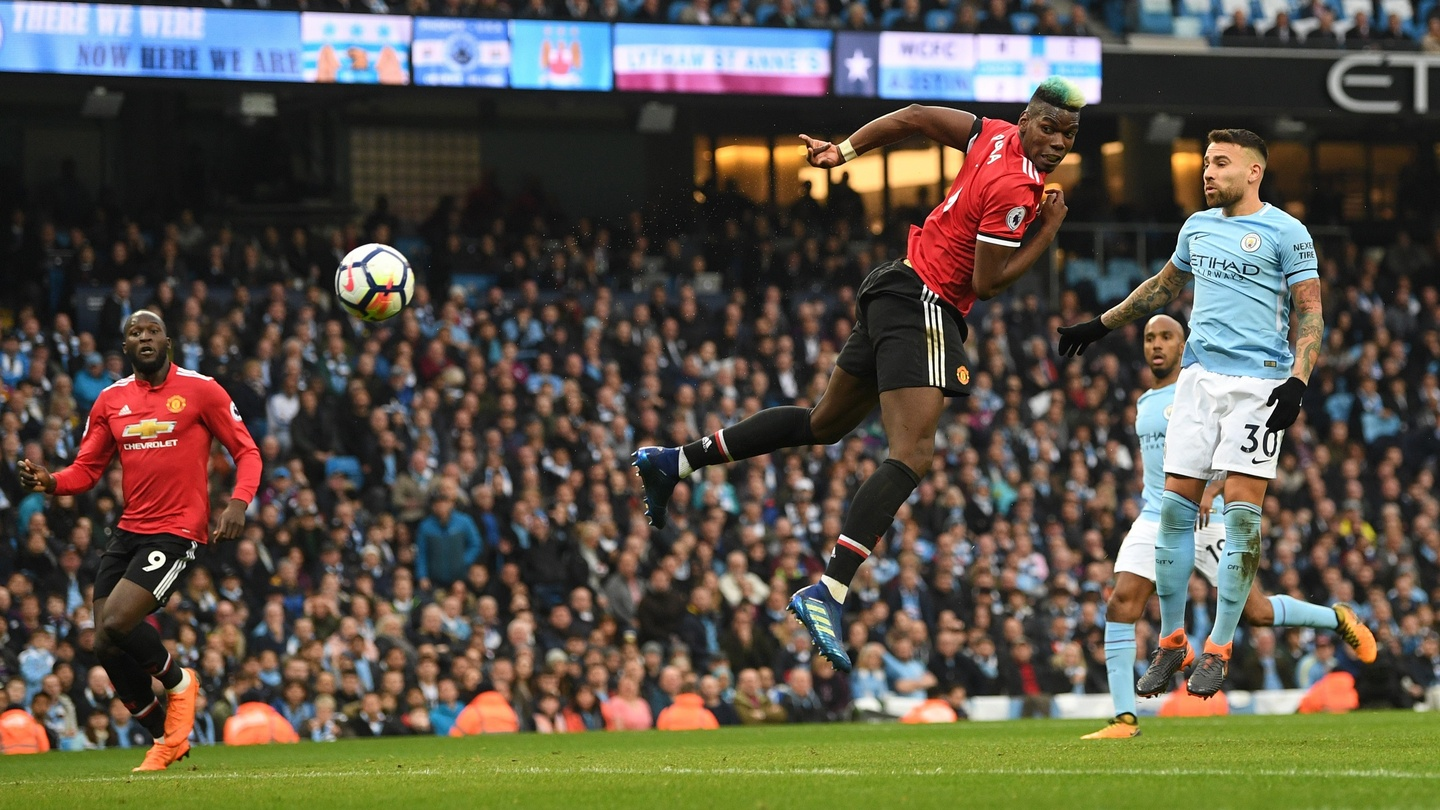 d4c26489147 City coronation delayed as Pogba and United crash title party