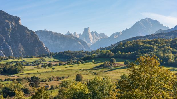 The Picos De Europa is an enormous, jagged, jutting mountain range, like something from a terraforming planet