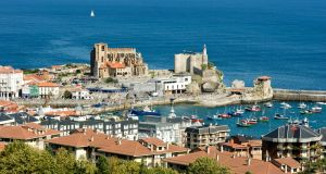 Castro Urdiales is a medieval seafaring and fishing village  on the Cantabrian coast