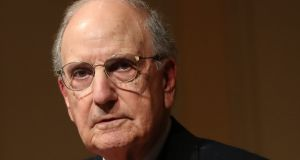 Senator George Mitchell has issued a fresh warning about the potential impact of Brexit on the peace process. Photograph: Niall Carson/PA