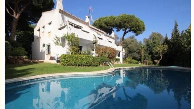 Three-bedroom home in a complex of nine houses in Calahonda, Spain.