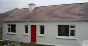 Two-bedroom home at Salruck, Renvyle, Co Galway.