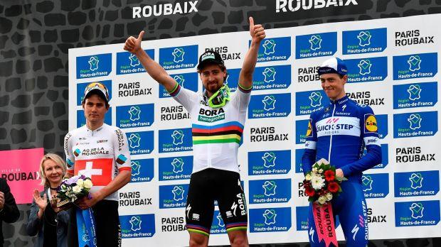 Stunning Sagan adds Paris-Roubaix to legend